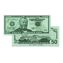 Learning Advantage CTU7503 $50 Bills Set Of 50
