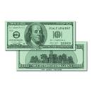 Learning Advantage CTU7504 $100 Bills Set Of 50