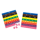 Learning Advantage CTU7673 Fraction & Decimal Tiles In Bag