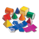 Learning Advantage CTU7771 Folding 3-D Geofigures 10Cm