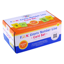 Learning Advantage CTU7982 Fun Empty Number Line Cards Only Gr - K-1
