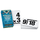 Learning Advantage CTU8661 Double Value Vertical Flash Cards Multiplication Division