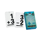 Learning Advantage CTU8662 Double Value Vertical Flash Cards Addition Subtraction