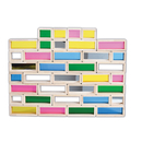 Learning Advantage CTU9361 Rainbow Bricks Set Of 36