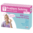 Didax DD-211280 Problem Solving Practice Cards Gr 4