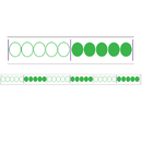 Didax DD-211283 Giant 1-120 Bead Number Line