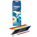 Dixon Ticonderoga DIX23650 Prang Watercolor Pencils 10 Colors