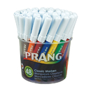 Dixon Ticonderoga DIX80848 Prang Art Markers Washable 48 - Colors