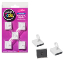 Dowling Magnets DO-735008 Ceramic Ceiling Hooks Set Of Five