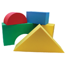 Edushape EDS700145 Giant Blocks 16/Pk 4-1/3 Thick