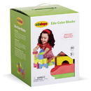 Edushape EDS716076 Soft & Unique Blocks 80 Pieces