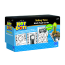 Educational Insights EI-2763 Hot Dots Flash Cards Telling Time