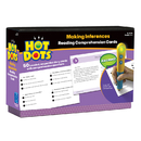 Educational Insights EI-2795 Hot Dots Reading Comprehension Kits Set 6 Making Inferences