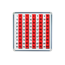 Educational Insights EI-4802 Magnetic 100 Board & Tiles