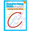 Essential Learning Products ELP0227 Handwriting Skills Simplified - Learning Cursive