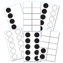 Essential Learning Products ELP626646 Ten Frame Activity Cards