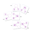 Essential Learning Products ELP626648 Number Bond Activity Cards Multiplication & Division