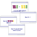Essential Learning Products ELP626681 Math Hands On Tally Marks Card Gr 2