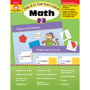 Evan-Moor EMC3072 Take It To Your Seat Gr 2 Math - Centers