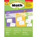 Evan-Moor EMC3074 Take It To Your Seat Gr 4 Math - Centers