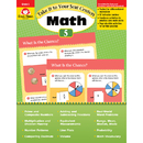 Evan-Moor EMC3075 Take It To Your Seat Gr 5 Math - Centers