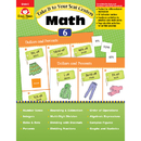 Evan-Moor EMC3076 Take It To Your Seat Gr 6 Math - Centers