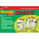 Edupress EP-2345 Spanish In A Flash Bingo Set 1