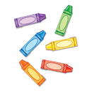 Edupress EP-2664 Crayons Mini Accents