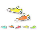 Edupress EP-3233R Pete The Cat Groovy Shoes Accents Pack Of 36