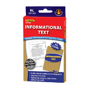 Edupress EP-3438 Informational Text Blue Lvl Reading - Comprehension Practice Cards