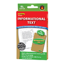 Edupress EP-3439 Informational Text Grn Lvl Reading - Comprehension Practice Cards