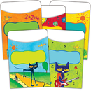 Teacher Created Resources EP-63923 Pete The Cat Library Pockets