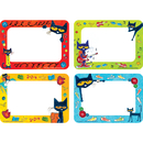 Teacher Created Resources EP-63939 Pete The Cat Name Tags/Labels