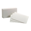 Esselte ESS40153SP Oxford Index Cards 3X5 Ruled White 100 Per Pack