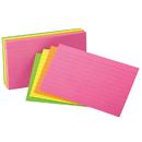 Esselte ESS99755 Oxford Glow Index Cards 4 X 6
