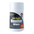 Falcon Safety Products FALDSCT Anti Static Monitor Wipes 80 Ct Canister