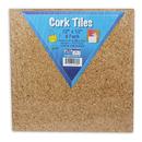 Flipside FLP10058 Cork Tiles 12In X 12In Set Of 4