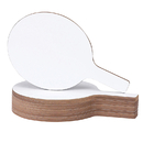 Flipside FLP12032 Economy Dry Erase Answer Paddle 12 Pk
