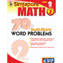 Carson Dellosa FS-014012 Singapore Math Level 2 Gr 3 70 Must Know Word Problems