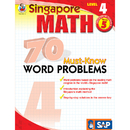 Carson Dellosa FS-014014 Singapore Math Level 4 Gr 5 70 Must Know Word Problems