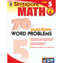 Carson Dellosa FS-014015 Singapore Math Level 5 Gr 6 70 Must Know Word Problems