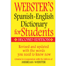 Federal Street Press FSP9781596951655 Websters Spanish English Dictionary - For Students