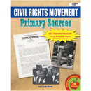 Gallopade GALPSPCIVRIG Primary Sources Civil Rights - Movement