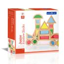 Guidecraft USA GD-3082 Jr Rainbow Blocks 20 Piece Set