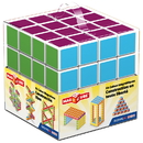 Geomag GMW129 Magicube - 64 Piece Multicolored