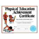 Hayes School Publishing H-VA195CL Certificate Physical Education 30Pk