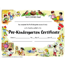 Hayes School Publishing H-VA199CL Certificate Pre-K Set/30 8.5 X 11