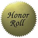 Hayes School Publishing H-VA317 Stickers Gold Honor Roll 50/Pk 2 Diameter