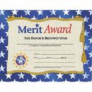 Hayes School Publishing H-VA507 Certificates Merit Award 30/Pk W/ Stars 8.5 X 11