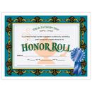 Hayes School Publishing H-VA512 Certificates Honor Roll Blue 30/Pk Ribbon 85 X 11